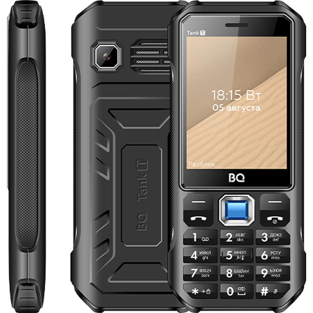 Мобильный телефон BQ Mobile BQ-2824 Tank T Black телефон bq 2824 tank t черный