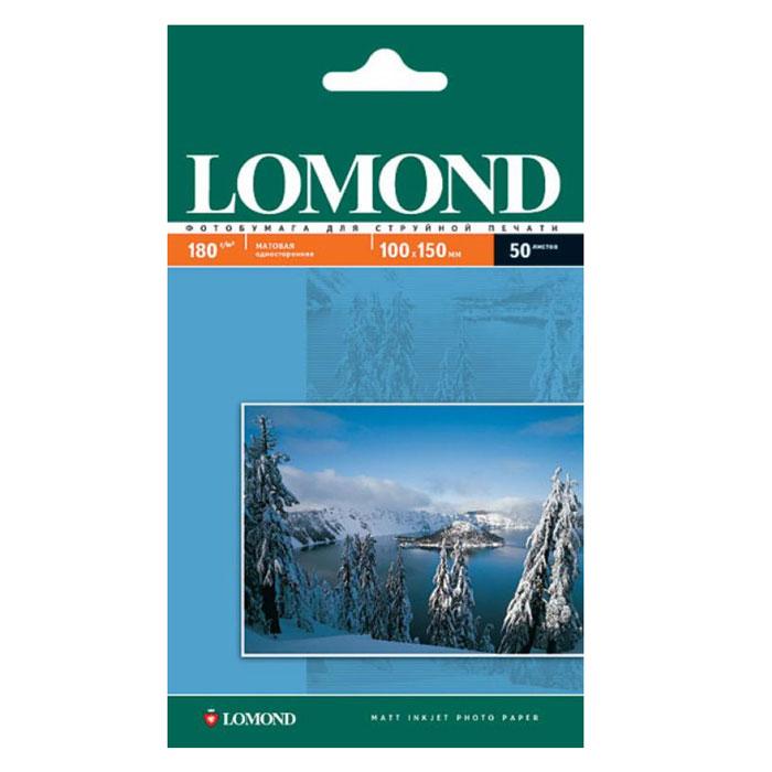 Фото - Фотобумага Lomond 10x15 180г/м2 50л, белый матовое для струйной печати (0102063) фотобумага lomond 10x15 230г м2 50л белый матовое для струйной печати 0102034