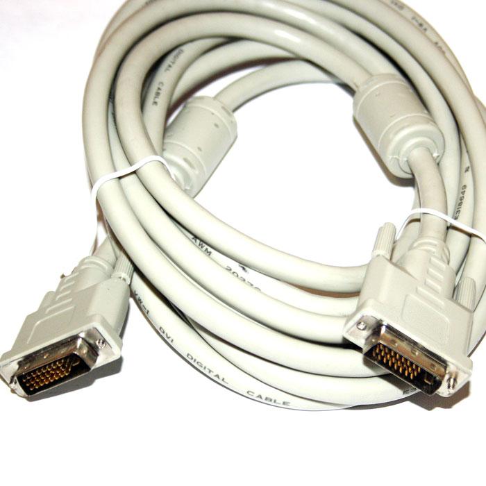 Фото - Кабель DVI-D (dual link) 4.5м кабель hama h 20156 00020156 dvi d dual link m dvi d dual link m 1 8м