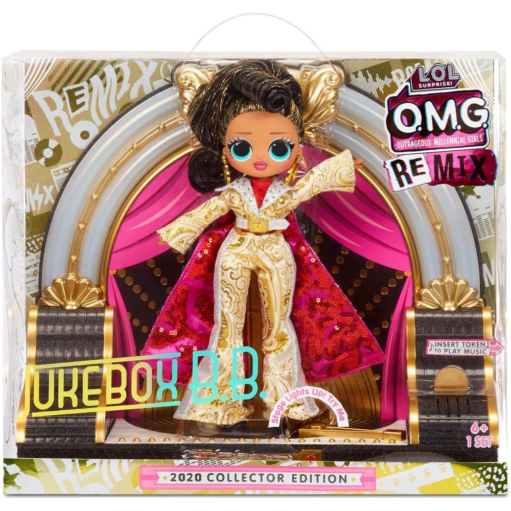 postmodern jukebox manila Кукла - сюрприз L.O.L. MGA Original OMG Коллекционная Jukebox B.B.- Remix