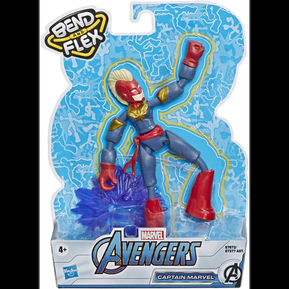 Фото - Avengers Hasbro Фигурка Бенди Мстители 15 см E7377 Капитан Марвел avengers hasbro фигурка бенди мстители 15 см e7377 капитан америка
