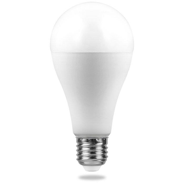 Фото - Светодиодная лампа Feron LB-98 (20W) 230V E27 4000K A65 25788 лампа светодиодная feron lb 65 25822 e27 e40 70w 4000k цилиндр матовая