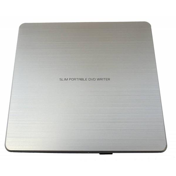 Внешний привод DVD-RW LG GP60NS60 DVD±R/±RW USB2.0 Silver