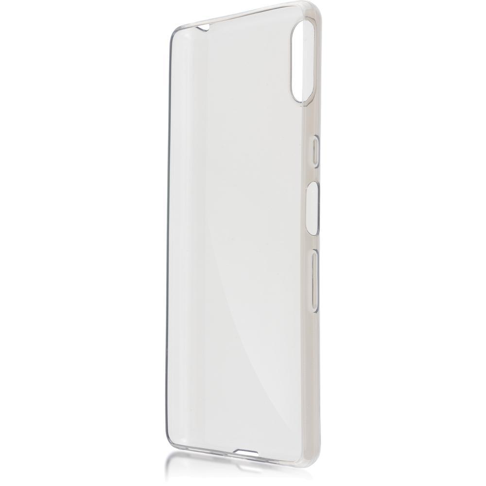 Чехол для Sony I4312 Xperia L3 Brosco силиконовая накладка, черный чехол для sony h4113 xperia xa2 brosco накладка розовый