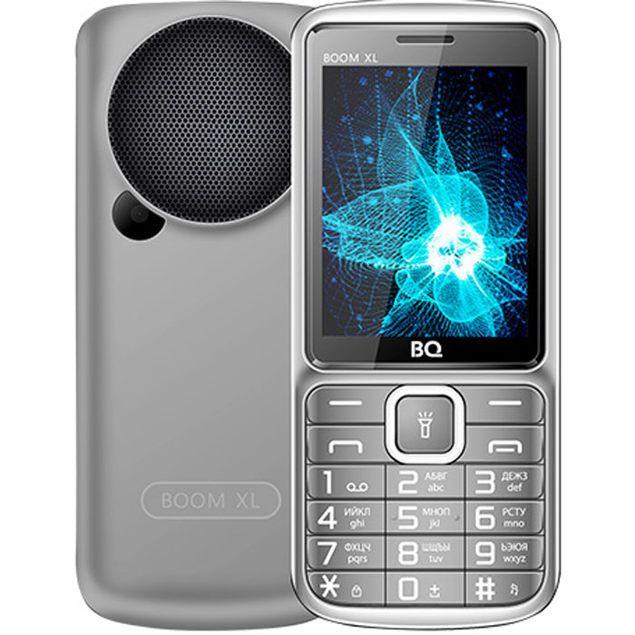 Мобильный телефон BQ Mobile BQ-2810 Boom XL Grey мобильный телефон bq elegant 3595 серый