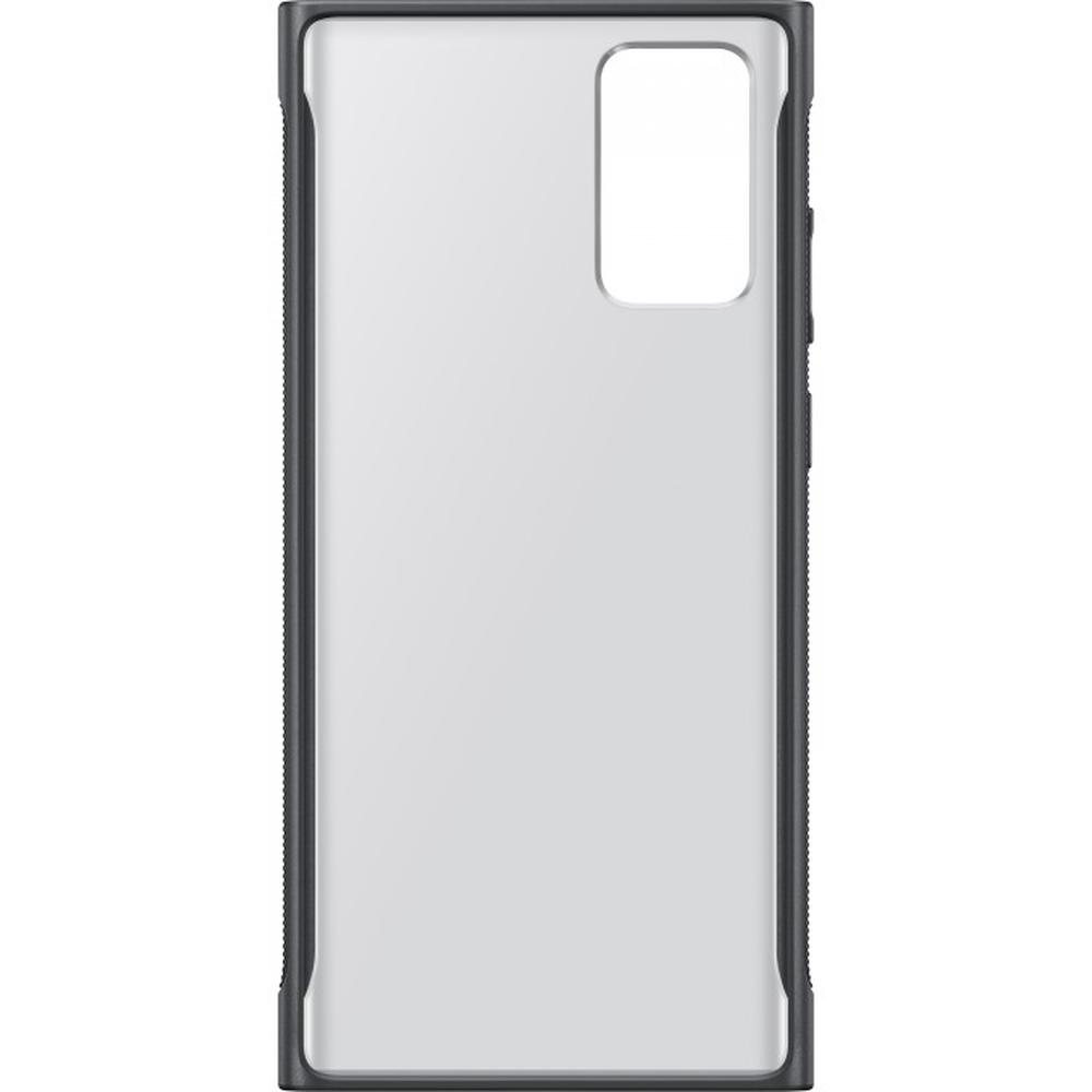 Фото - Чехол для Samsung Galaxy Note 20 SM-N980 Clear Protective Cover чёрный\прозрачный чехол для samsung galaxy note 10 2019 sm n970 clear cover прозрачный