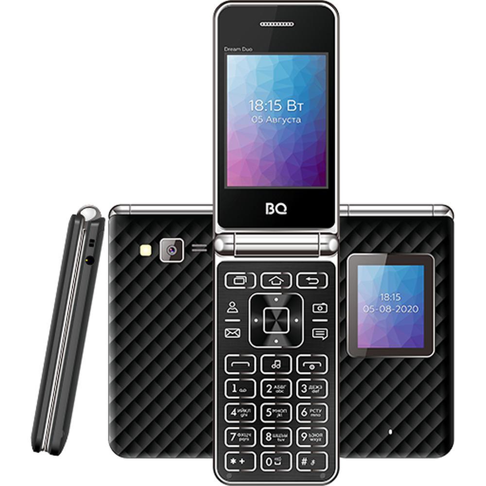 Мобильный телефон BQ Mobile BQ-2446 Dream Duo Black мобильный телефон bq 2814 shell duo gold