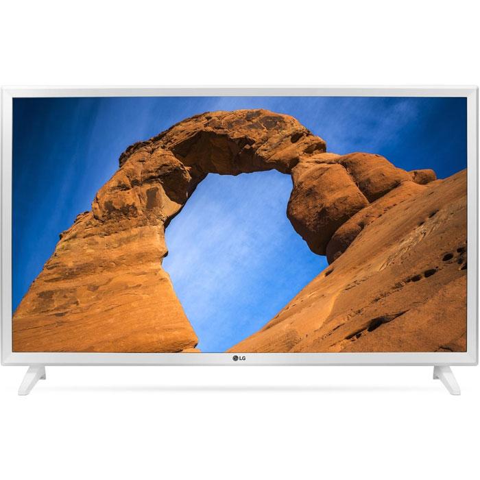 Фото - Телевизор 32 LG 32LK519B (HD 1366x768, USB, HDMI) белый телевизор 32 lg 32lj510u hd 1366x768 usb hdmi черный