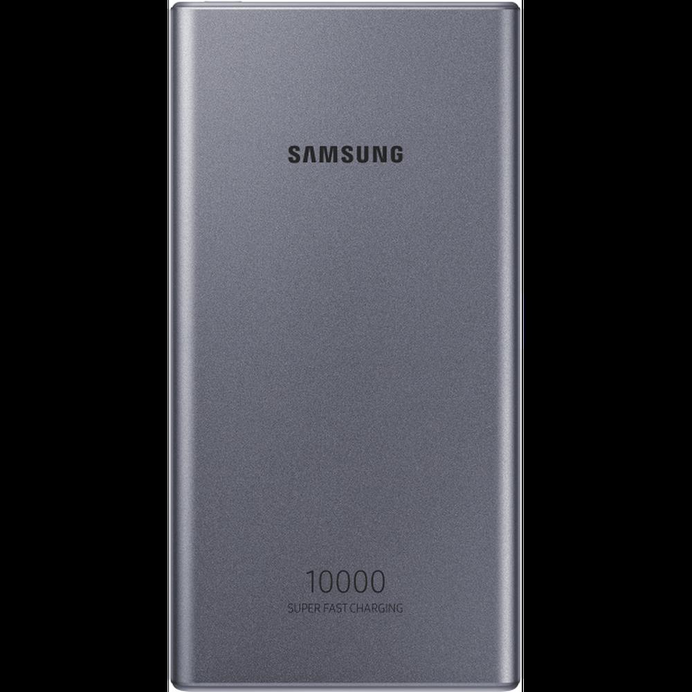 Фото - Внешний аккумулятор Samsung 10000 mAh, EB-P3300, серый аккумулятор relato slb 1137 для samsung u ca 4 401 501 505 v700 v800 fuji f 401 410 50i 601 m60 m603 m608 pentax optio 330 430 casio qv r3 r4 hp photosmart r507 r707 r727 r927 r967 kodak d