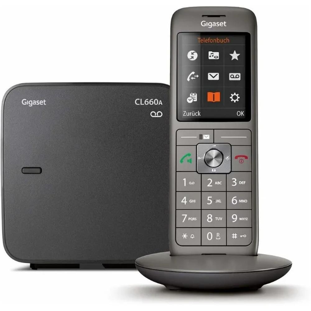 Фото - Радиотелефон Gigaset CL660A черный радиотелефон gigaset cl660a черный