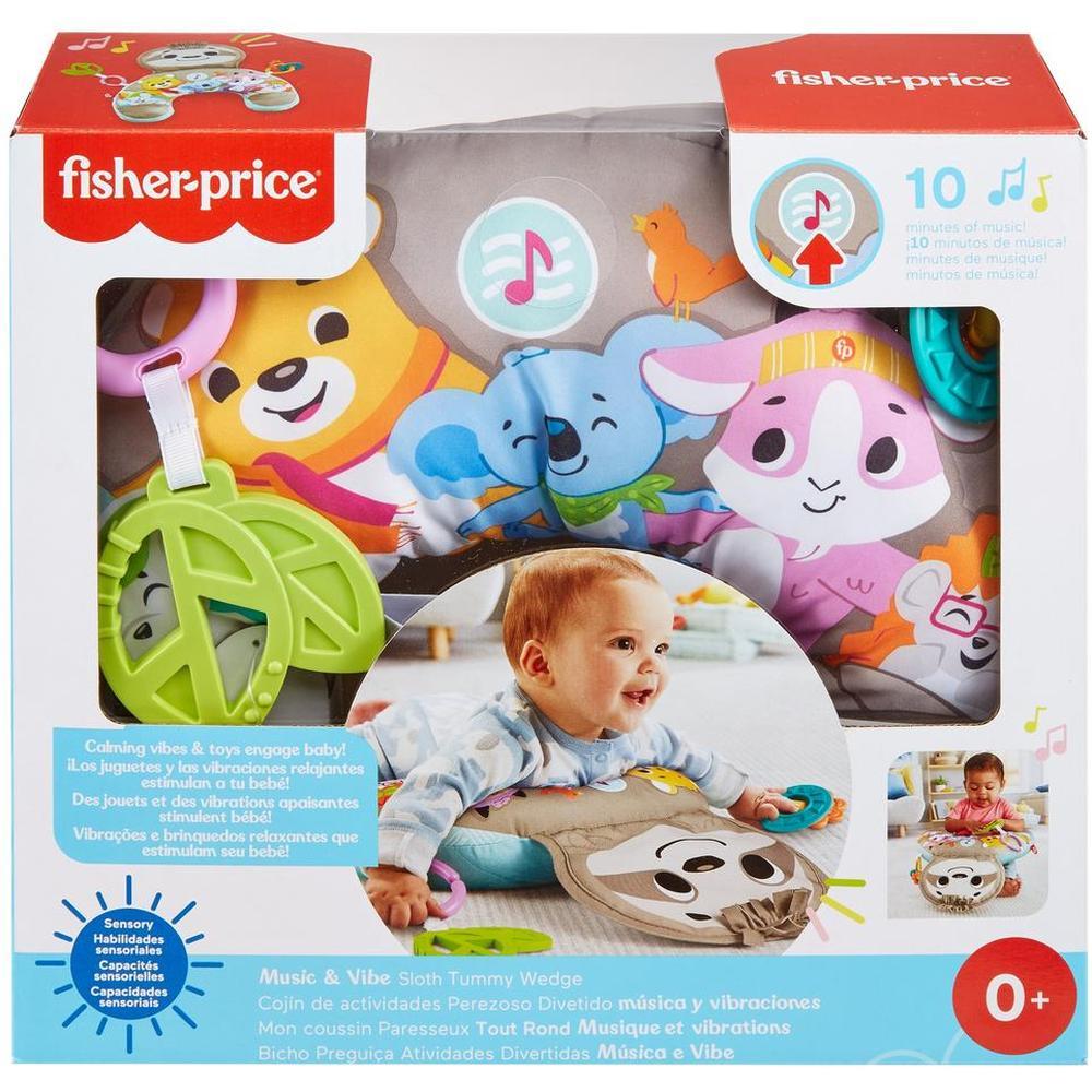Mattel Fisher-Price Музыкальная подушка для новорожденных