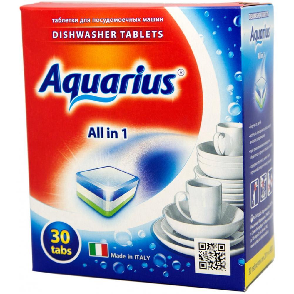 Фото - AQUARIUS All in 1 таблетки для посудомоечной машины, 30 шт. aquarius all in 1 таблетки для посудомоечной машины 150 шт