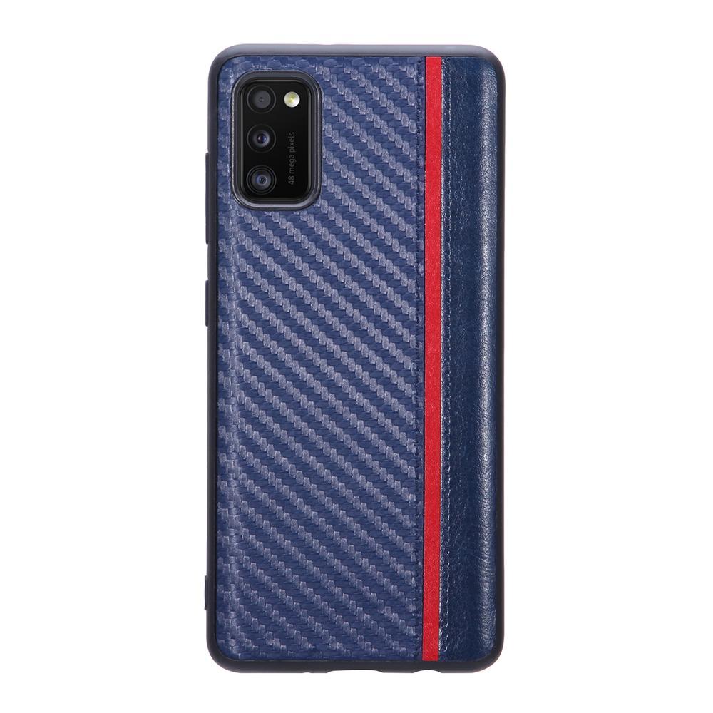 Фото - Чехол для Samsung Galaxy A41 SM-A415 G-Case Carbon синяя чехол activ для samsung sm a415 galaxy a41 full originaldesign black 119398