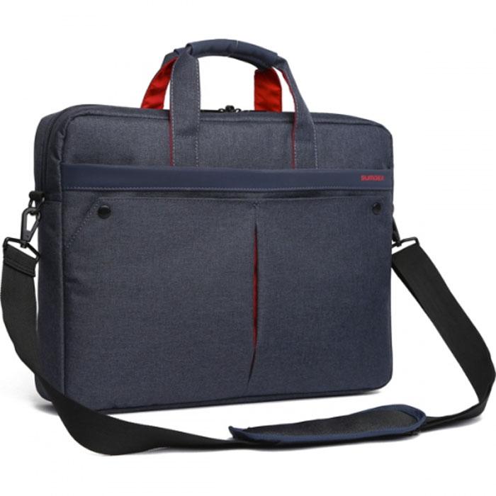 15.6 Сумка для ноутбука Sumdex PON-202NV, нейлоновая, темно-синяя сумка для ноутбука 10 sumdex pon 340bu синяя