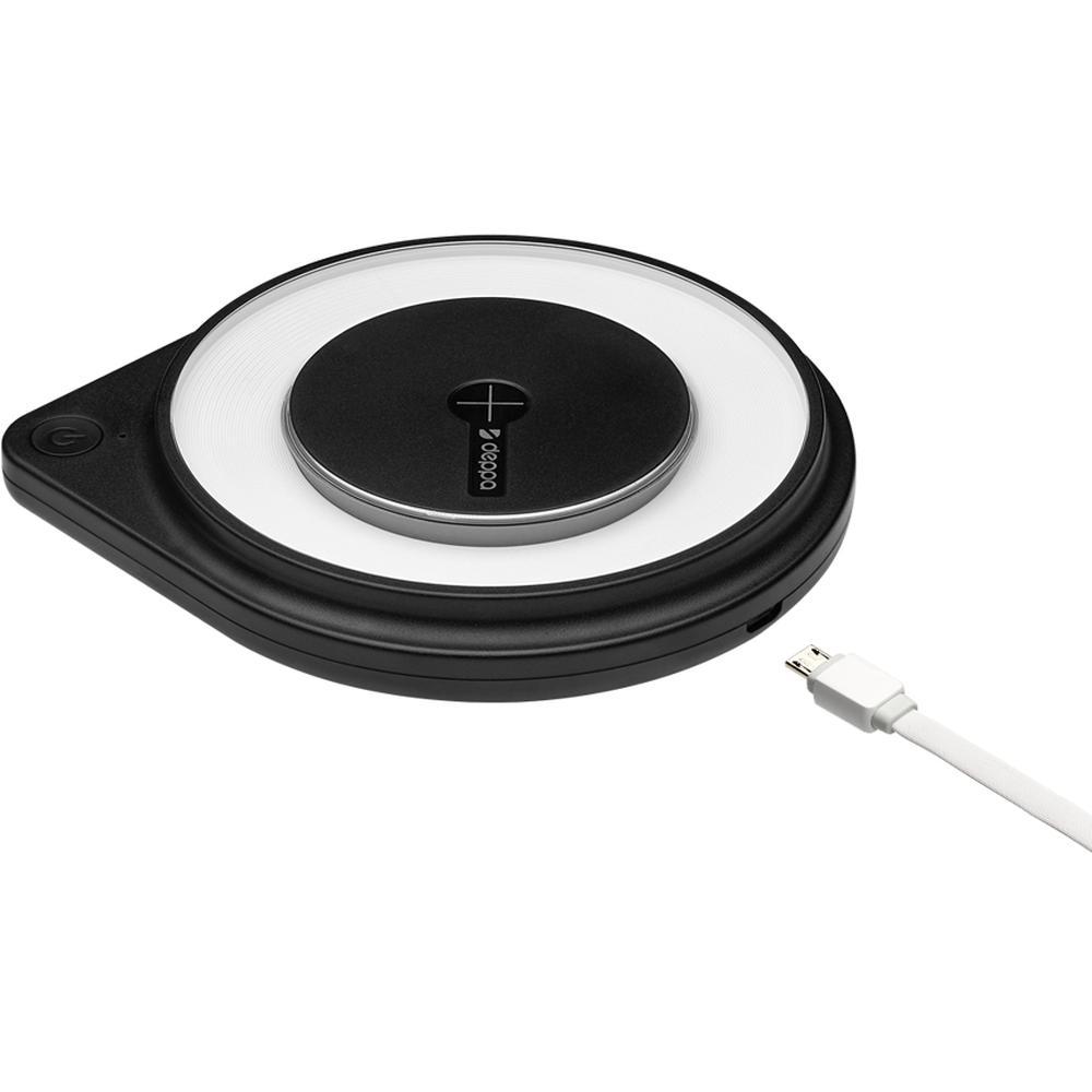 Фото - Беспроводная зарядная панель Deppa Fast Charger (24008), Black беспроводная зарядная панель samsung ep p6300 черная