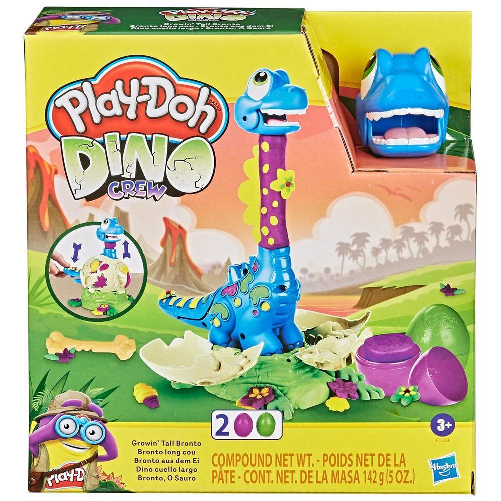 Фото - Игровой набор с пластилином Hasbro Play-Doh F1503 Динозаврик игровой набор специальной массы hasbro play doh wheels e4508