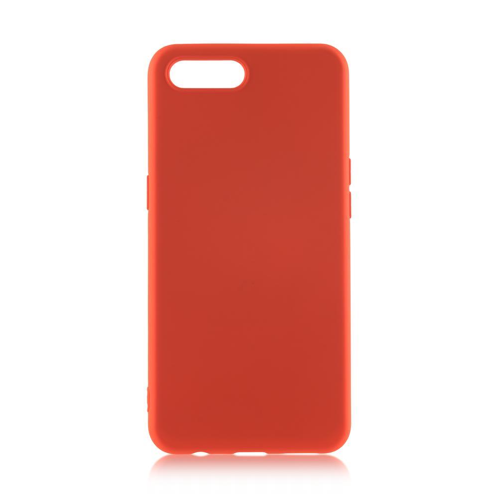 Чехол для Apple iPhone 7 Plus\8 Plus Brosco Softrubber\Soft-touch красный аксессуар чехол neypo soft touch для apple iphone 8 plus 7 plus black st02111