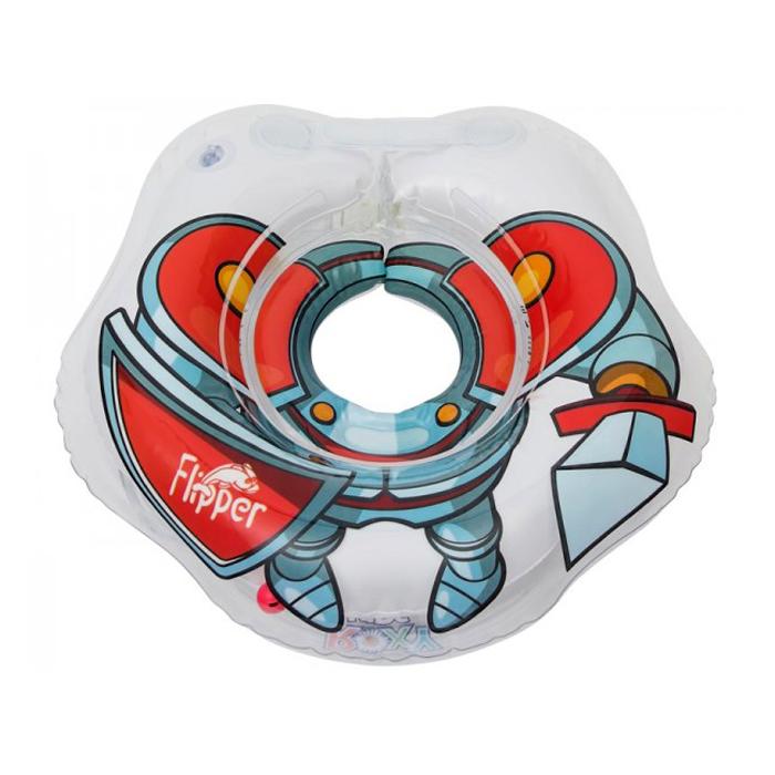 Круг надувной на шею Roxy Kids Flipper Рыцарь надувной горшок roxy kids pocketpotty динозавр pp 3102d