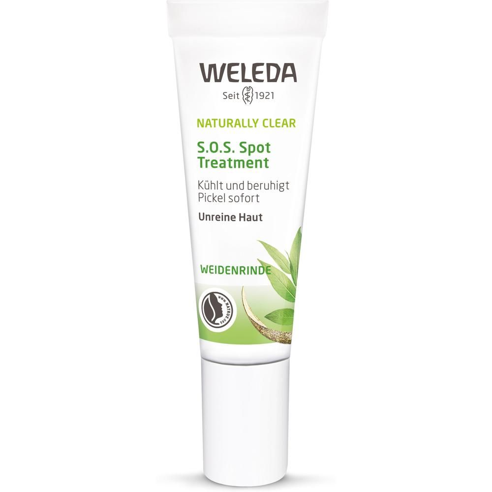 weleda naturally clear purifying gel cleanser Weleda средство против локальных несовершенств кожи Naturally Clear S.O.S. 10 мл