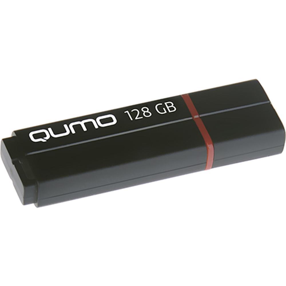 Фото - USB Flash накопитель 128GB Qumo Speedster (QM128GUD3-SP-black) USB 3.0 Black флешка usb 32gb qumo speedster usb3 0 черный qm32gud3 sp black