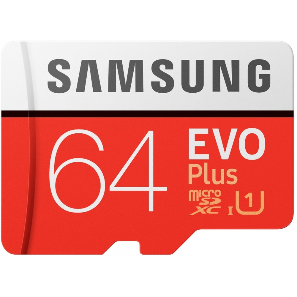 Фото - Карта памяти Micro SecureDigital 64Gb SDXC Samsung Evo Plus class10 UHS-I U1 (MB-MC64HA/RU) + адаптер SD карта памяти samsung 64gb evo plus v2 microsdxc class 10 u1 sd adapter mb mc64ha