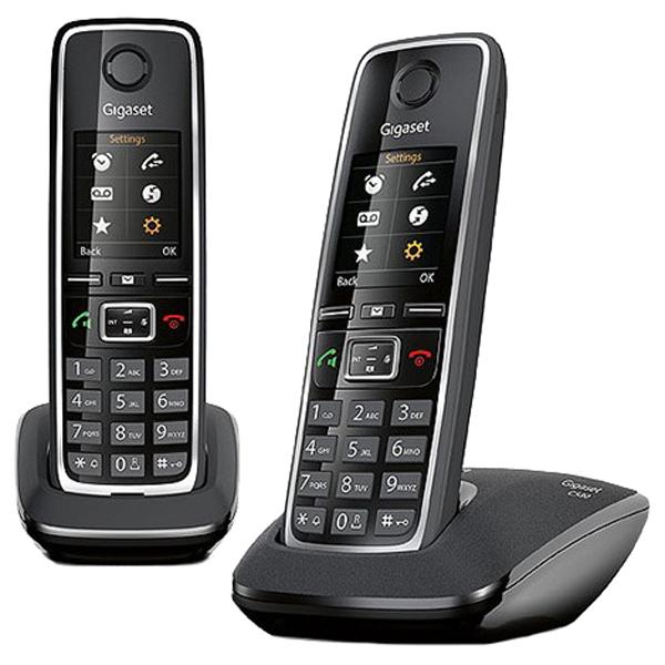 Фото - Радиотелефон Gigaset C530 Duo черный радиотелефон gigaset c530 черный
