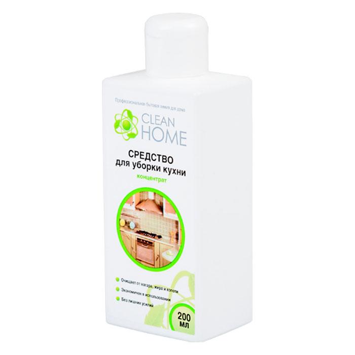 Clean Home Средство для уборки кухни, 200 мл. недорого
