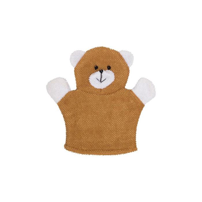 Махровая мочалка-рукавичка Roxy-Kids «Baby Bear» RBS-002