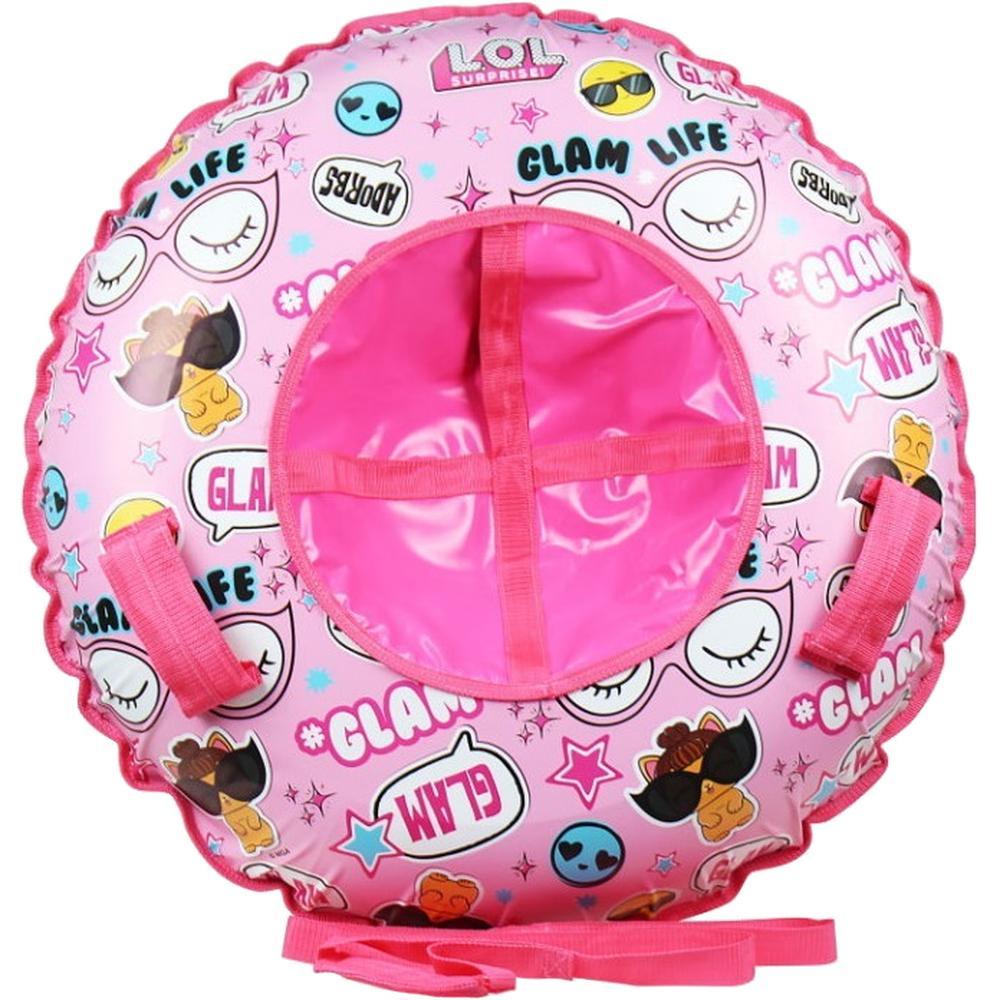 Тюбинг 1Toy LOL надувные сани (материал глянцевый пвх) 120 см Т16409