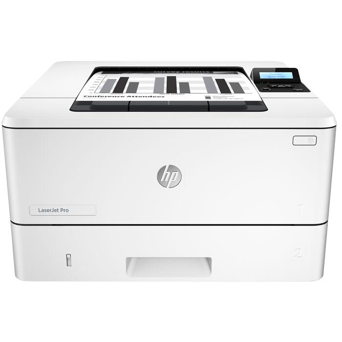 Фото - Принтер HP LaserJet Pro M402dne C5J91A ч/б А4 38ppm с дуплексом и LAN генкин б основы организации труда генкин isbn 9785468001998