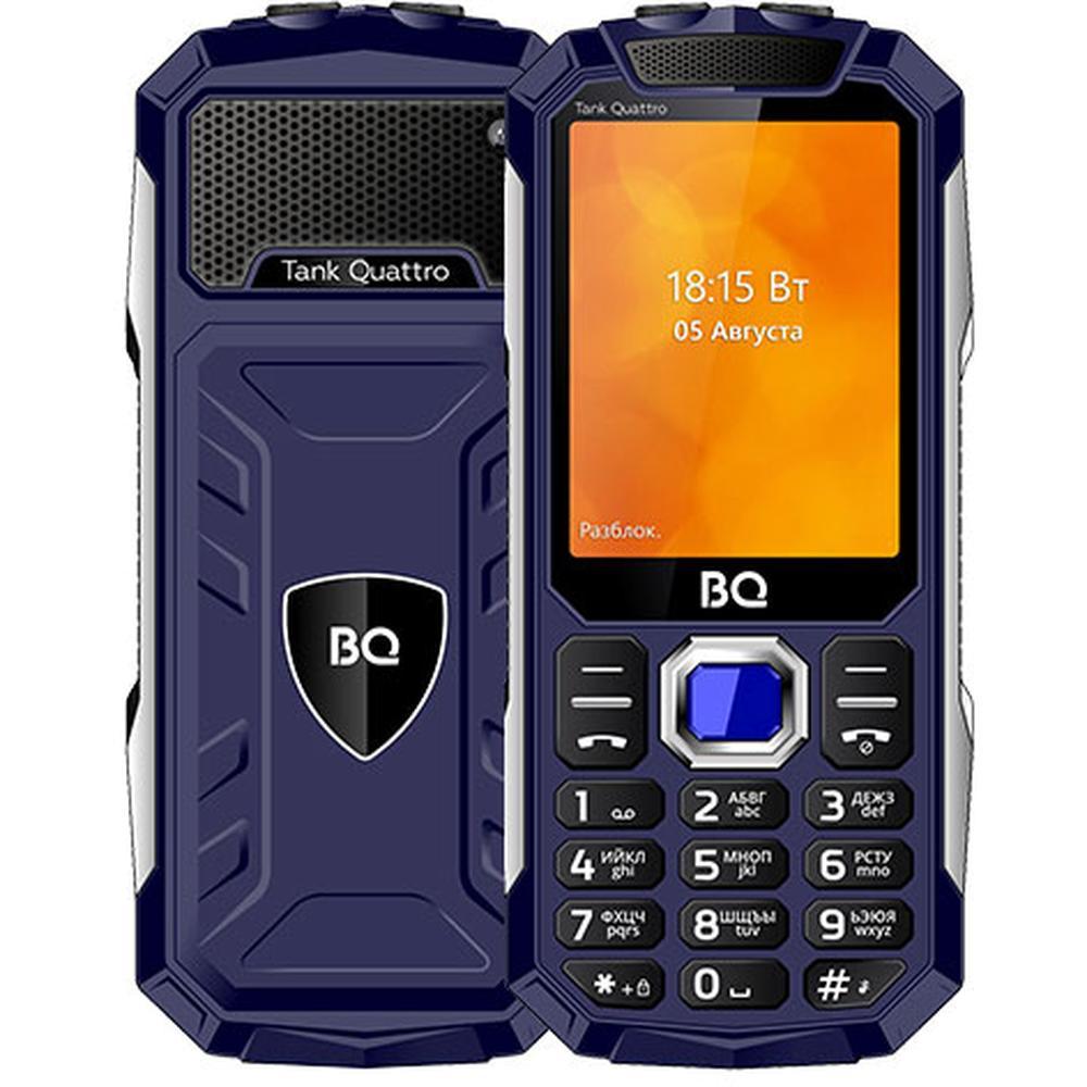 Мобильный телефон BQ Mobile BQ-2819 Tank Quattro Blue планшет bq mobile bq 7083g blue