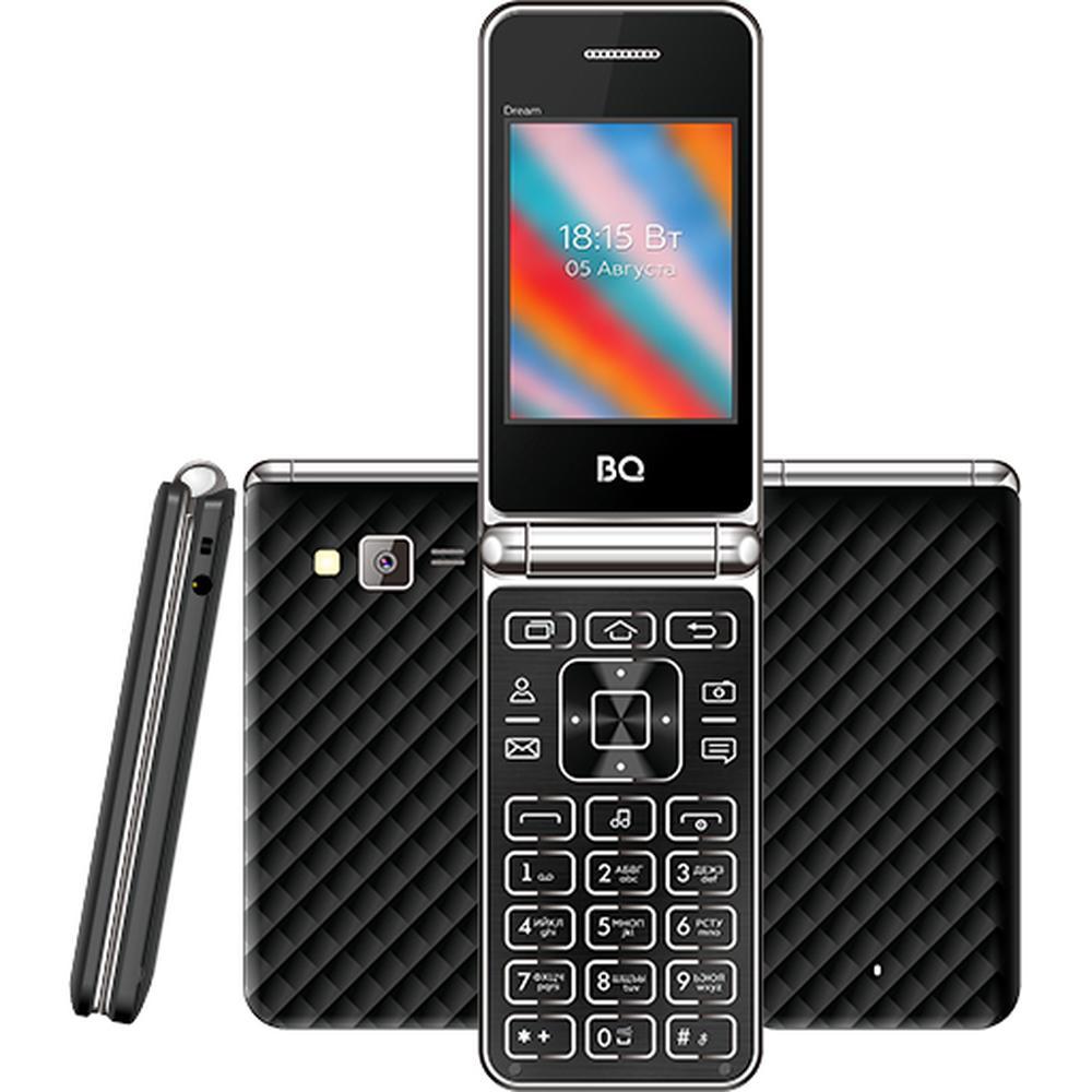 Фото - Мобильный телефон BQ Mobile BQ-2445 Dream Black мобильный телефон bq mobile bq 2446 dream duo gold