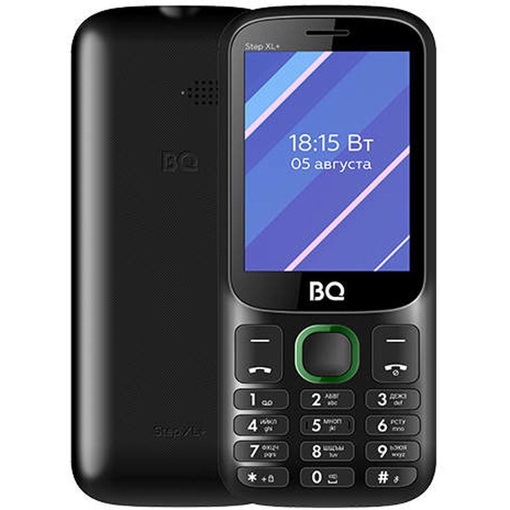 Мобильный телефон BQ Mobile BQ-2820 Step XL+ Black/Green сотовый телефон bq 3590 step xxl black green