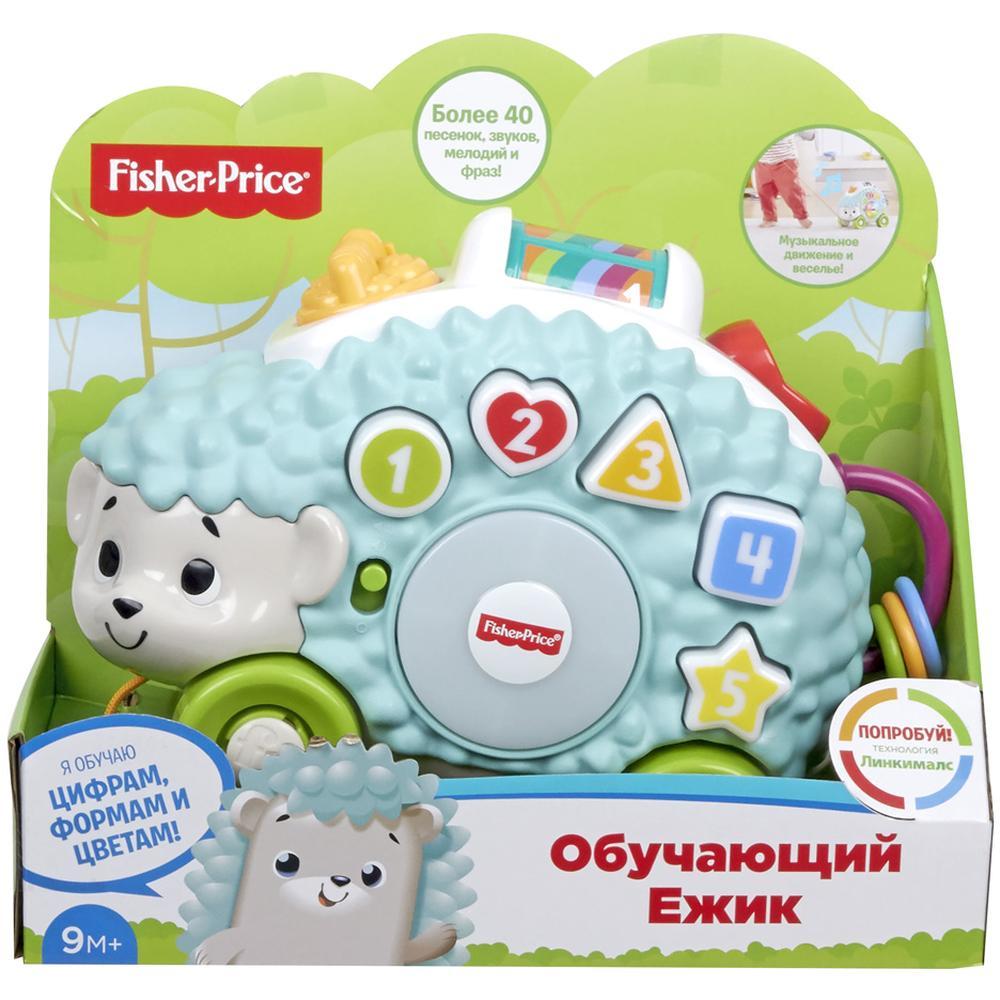Интерактивная игрушка Mattel Fisher-Price Музыкальный Обучающий Ежик GJB14