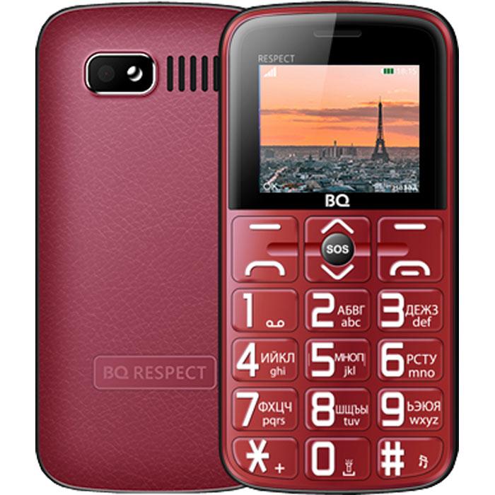 Мобильный телефон BQ Mobile BQ-1851 Respect Red мобильный телефон bq elegant 3595 серый