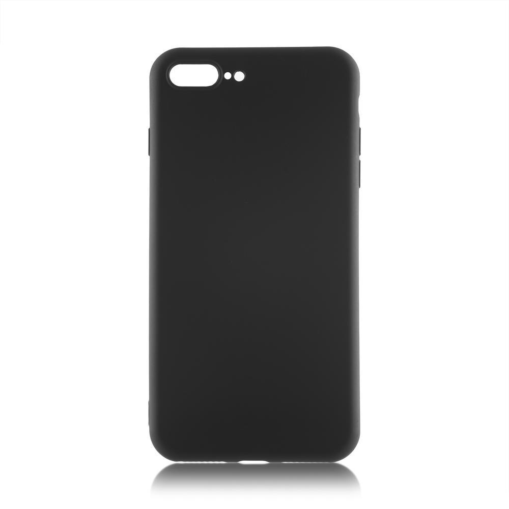 Чехол для Apple iPhone 7 Plus\8 Plus Brosco Softrubber\Soft-touch черный аксессуар чехол neypo soft touch для apple iphone 8 plus 7 plus black st02111