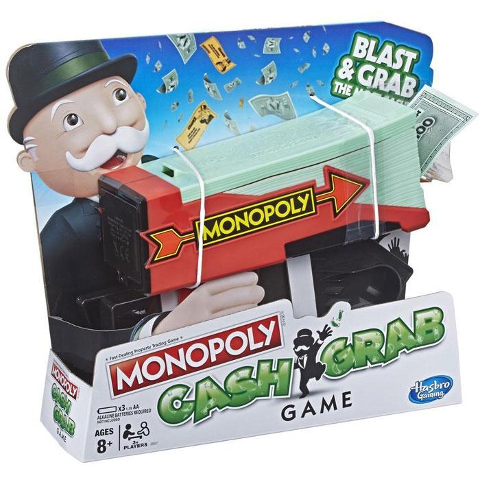 Настольная игра Hasbro Монополия Деньги на воздух E3037 hasbro настольная игра монополия маша и медведь