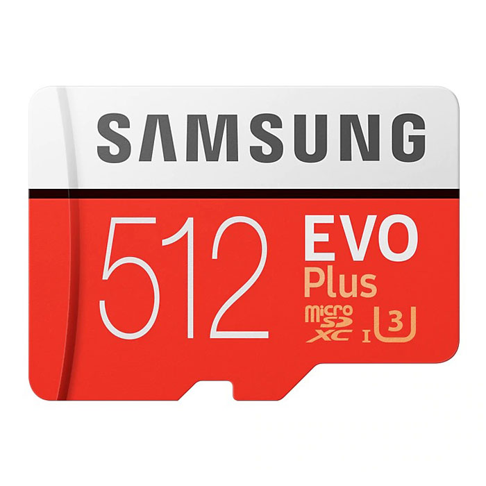 Фото - Карта памяти Micro SecureDigital 512Gb SDXC Samsung Evo Plus class10 UHS-I U3 (MB-MC512GARU) + адаптер SD карта памяти micro securedigital 128gb sdhc samsung pro endurance class10 uhs i u1 mb mj128ga ru адаптер sd