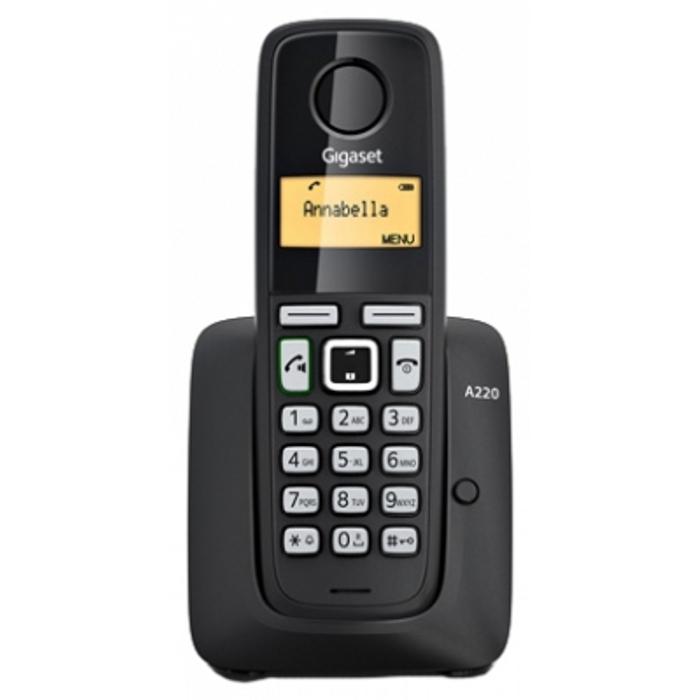 Радиотелефон Gigaset A220A черный радиотелефон
