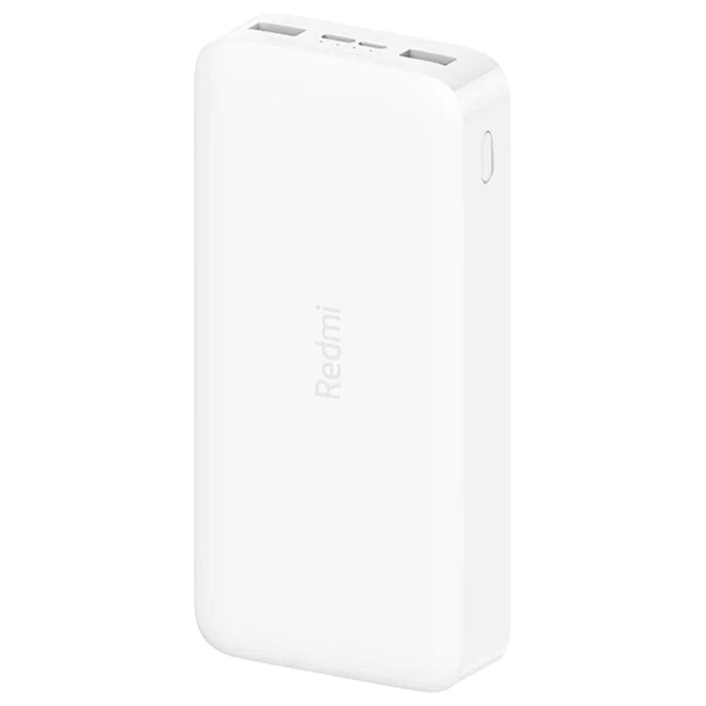 Фото - Внешний аккумулятор Xiaomi Redmi Power Bank 20000 mAh, 2xUSB, 1xType C, белый внешний аккумулятор twist 4000 mah синий
