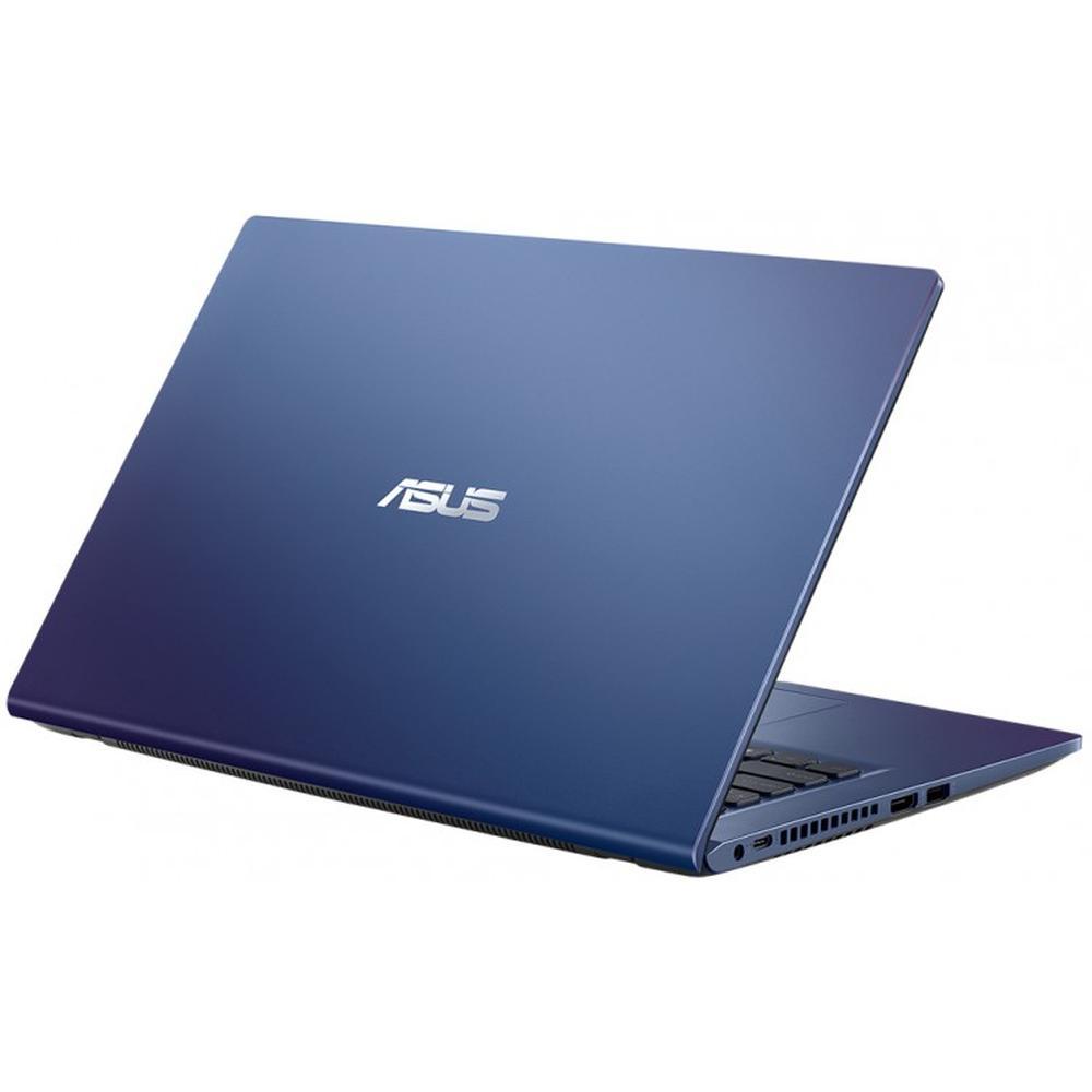 Ноутбук ASUS X415JA-EK465T Core i5 1035G1/8Gb/512Gb SSD/14 FullHD/Win10 Peacock Blue ноутбук asus pro p5440fa bm1318 core i5 8265u 8gb 512gb ssd 14 fullhd dos grey