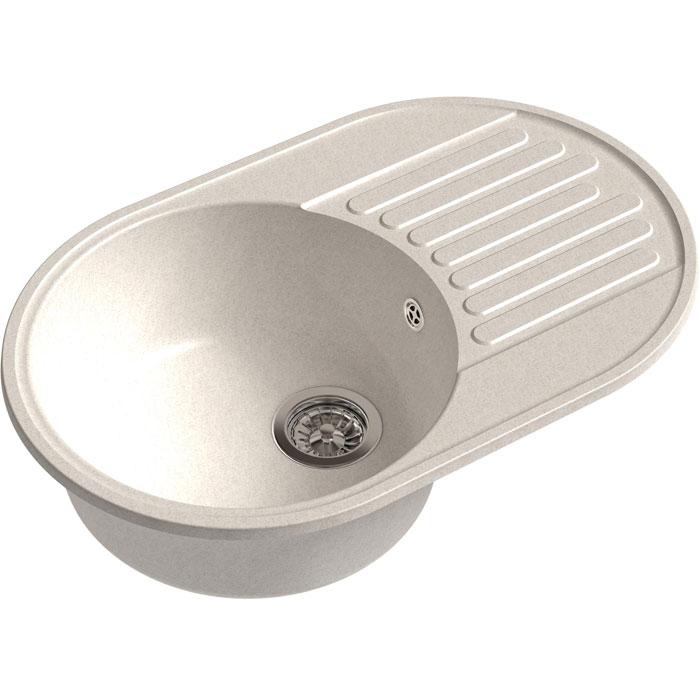 Кухонная мойка GranFest Quarz GF-Z18 чаша с крылом 740*480мм белый кухонная мойка granfest quarz gf z58 чаша с крылом 620 480мм бежевый