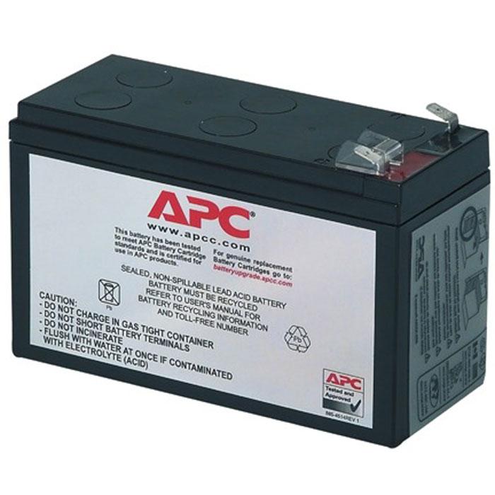 Батарея APC RBC2 для BE525-RS, BE550-RS, BH500INET, BK325-RS, BK350EI, BK350-RS, BK475-RS, BK500EI, BK500-RS, BP280SI, BP420SI, SC420I, SU420INET, BK2