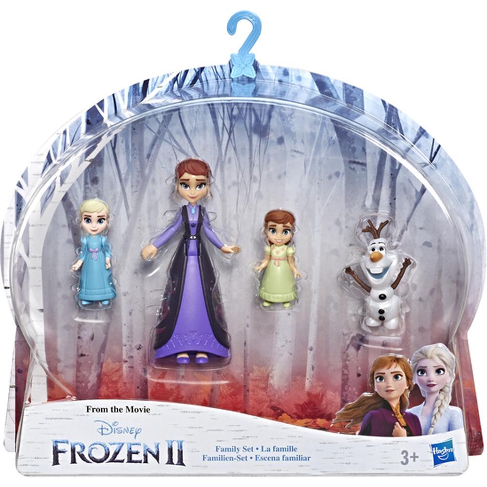 Кукла Hasbro Disney Frozen Холодное сердце 2 E5504/E6913 Делюкс набор Семья набор кукол hasbro disney princess холодное сердце 2 делюкс e5504eu4