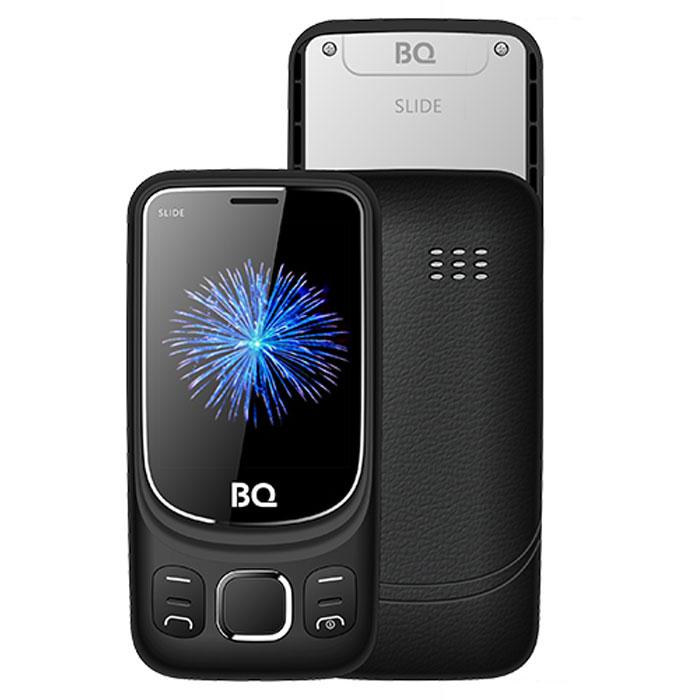 Мобильный телефон BQ Mobile BQ-2435 Slide Black сотовый телефон bq 2435 slide black