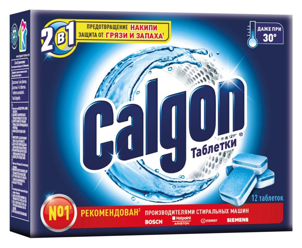Фото - Calgon Средство для смягчения воды, 12 шт. calgon таблетки для смягчения воды 12 шт