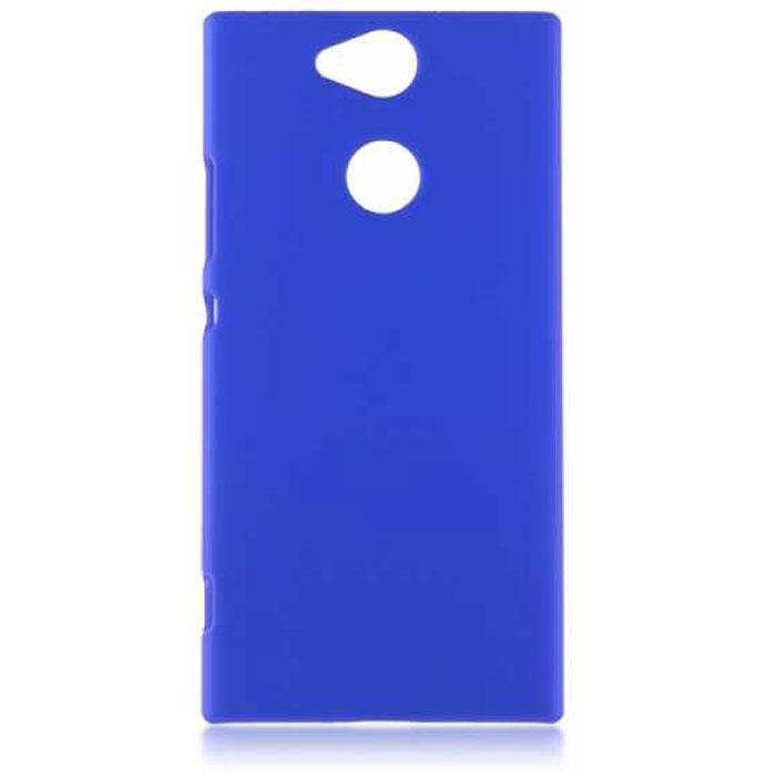 Чехол для Sony H4113 Xperia XA2 Brosco накладка, синий for sony xperia xa2 xa2 plus lcd display touch screen digitizer display screen xa2 h4113 h3113 h3123 xa2 plus h4413 h4493 h3413