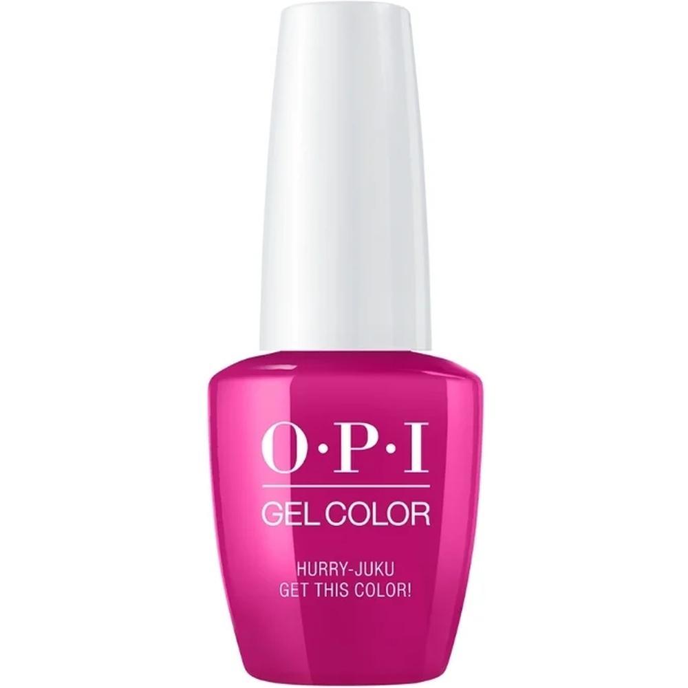OPI Гель-лак для ногтей GelColor Tokyo Hurry-juku Get this Color!, 15 мл. недорого