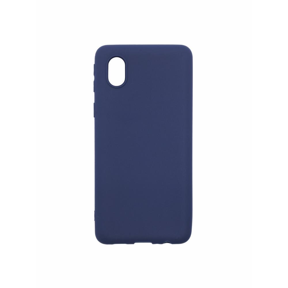 Чехол для Samsung Galaxy A01 Core SM-A013M01 Core SM-M013 Zibelino Soft Matte синий