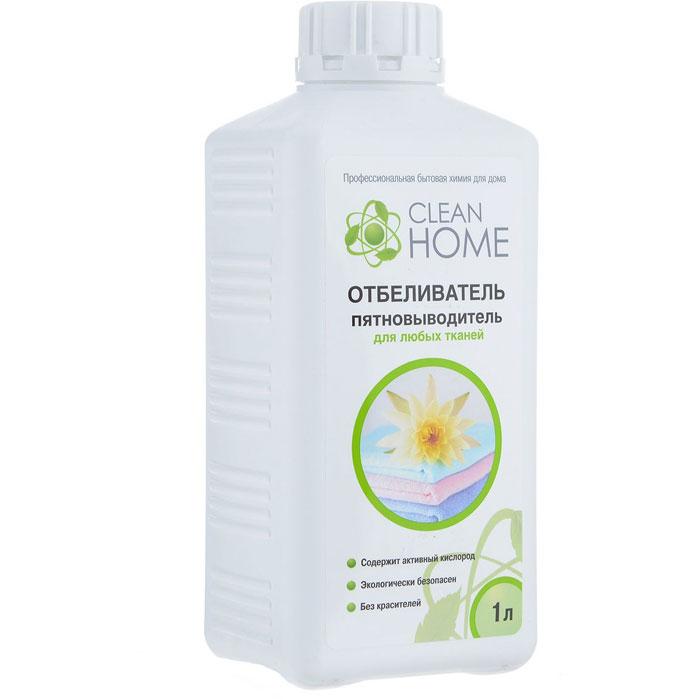 пятновыводитель кислородный отбеливатель для тканей велидара 400 г 1000027 Отбеливатель Clean Home Отбеливатель-пятновыводитель для любых тканей, 1 л.